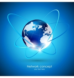 Globalization concept vector image vector image