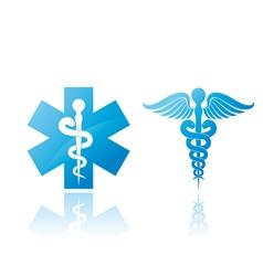 Medical signs vector