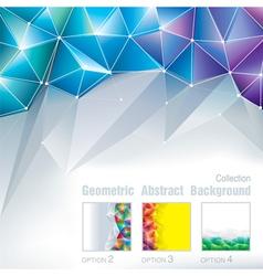 Geometric Polygonal vector image vector image