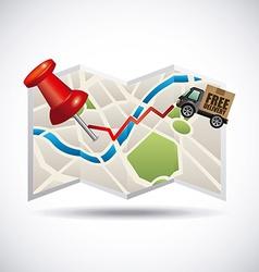 Gps navigation vector