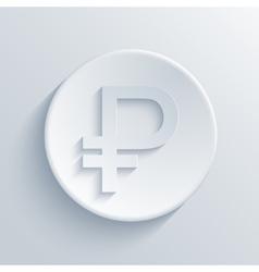 modern ruble light circle icon vector image