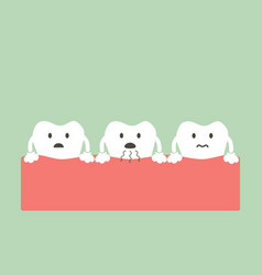 tooth is halitosis vector image