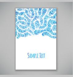 Beautiful card template vector