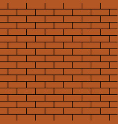 brick wall texture background texture of bricks vector image
