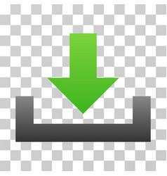 Downloads gradient icon vector