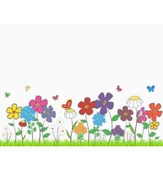 Flower glade vector