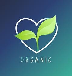 health-logo-green1 vector image