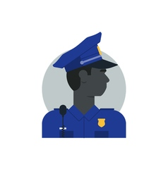 People policeman 2 vector image