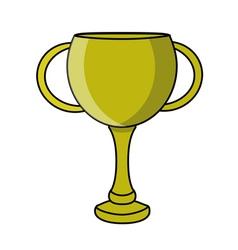 Retro cup design vector