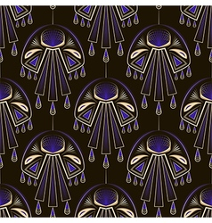 Seamless beautiful antique art deco pattern orname vector image