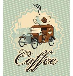 cup car vector image vector image