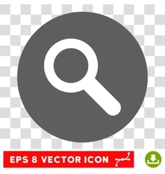 Search Round Eps Icon vector image vector image