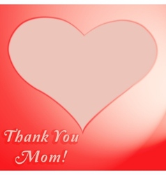 Thank vector image vector image