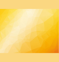 abstract triangular yellow orange summer vector image