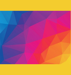 colorful geometric texture background vector image