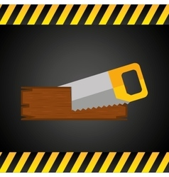 Construction tools equipment icon vector