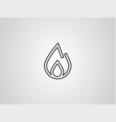 fire icon sign symbol vector image