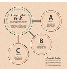 infographic design element background vector image
