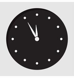 Information icon last minute clock vector