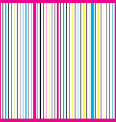 striped vertical seamless pattern vector image