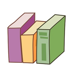 The books vector