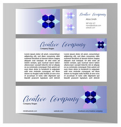 company design concept vector image vector image