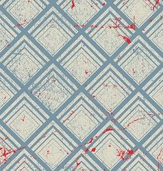 Vintage geometric seamless pattern repeat vector image