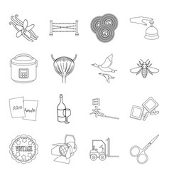 art alcohol cooking and other web icon in vector image