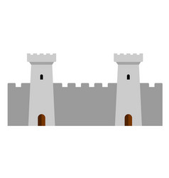 towers of a castle vector image