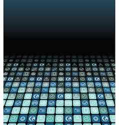 abstract technology background - vector image vector image