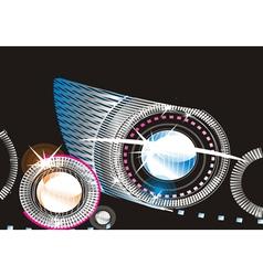 Fancy Lights vector image vector image