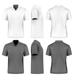 mens slim-fitting short vector image vector image