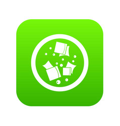 Asian sauce icon digital green vector