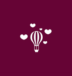 balloon icon simple vector image