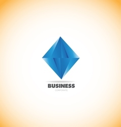 Business corporate diamond logo icon vector