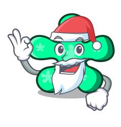 santa free form mascot cartoon vector image