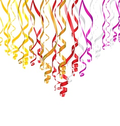 Serpentine Ribbons vector image