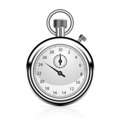 stop watch vector image