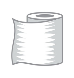 Toilet paper icon1 resize vector image