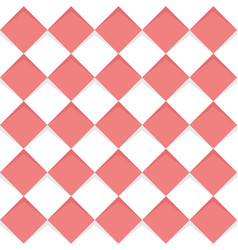 geometric seamless squares pattern vector image vector image