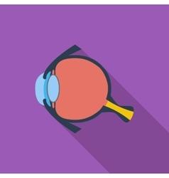 Anatomy eye vector image