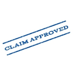 Claim Approved Watermark Stamp vector