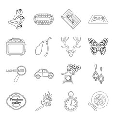 Cosmetics travel cooking and other web icon in vector