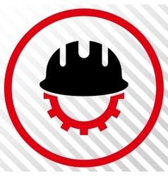 Development Hardhat Icon vector image