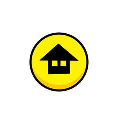 Home video game asset menu icon button layer art vector