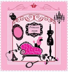 Princess Room - for girls vector