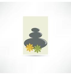 Spa salon icon vector