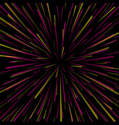 space vortex abstract background with star vector image