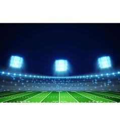 American football field eps 10 vector
