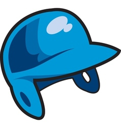 Batters Helmet vector image
